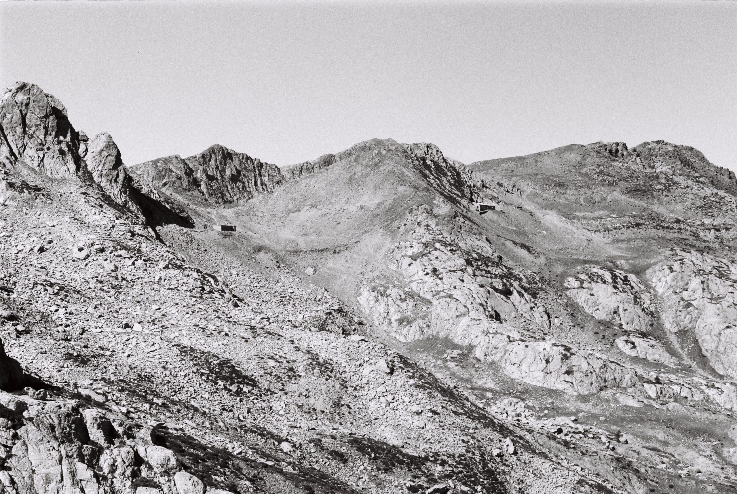 Montagnes dans le Mercantour