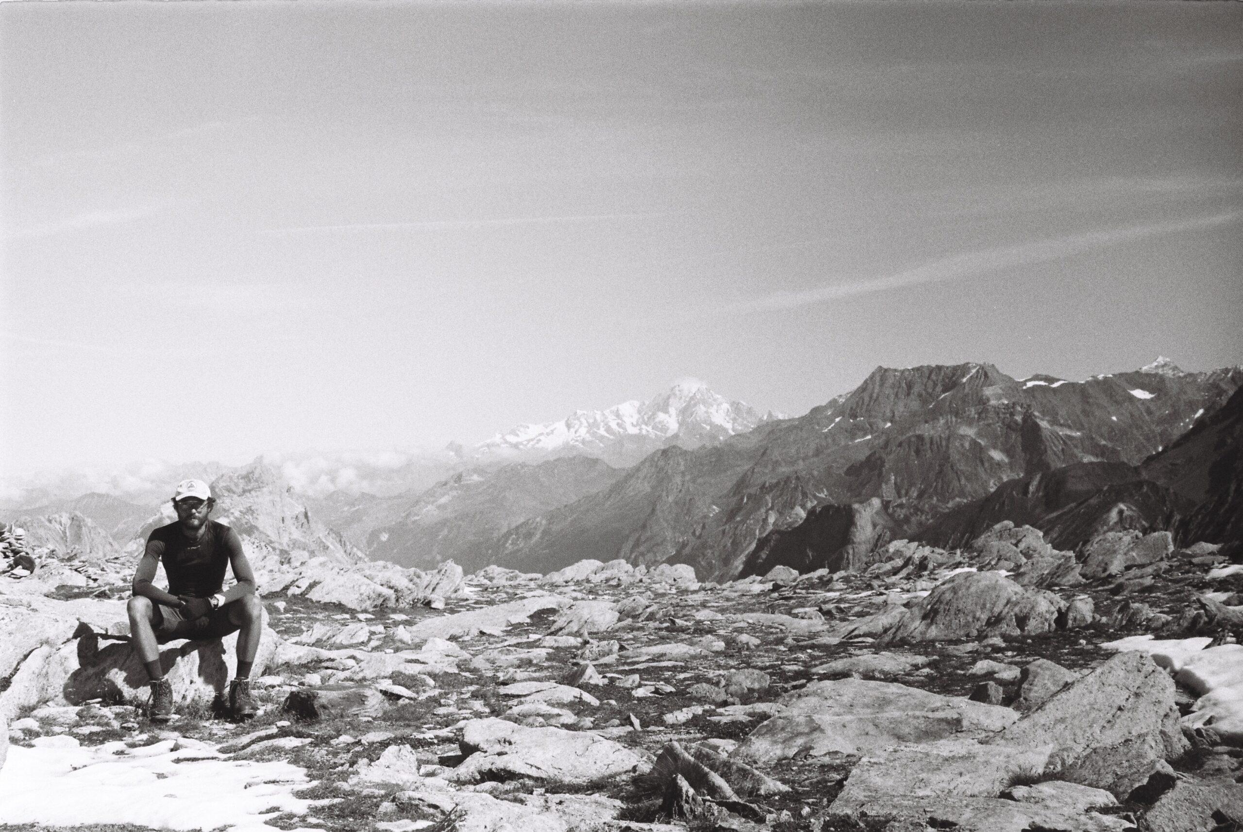 Autoportrait dans la Vanoise