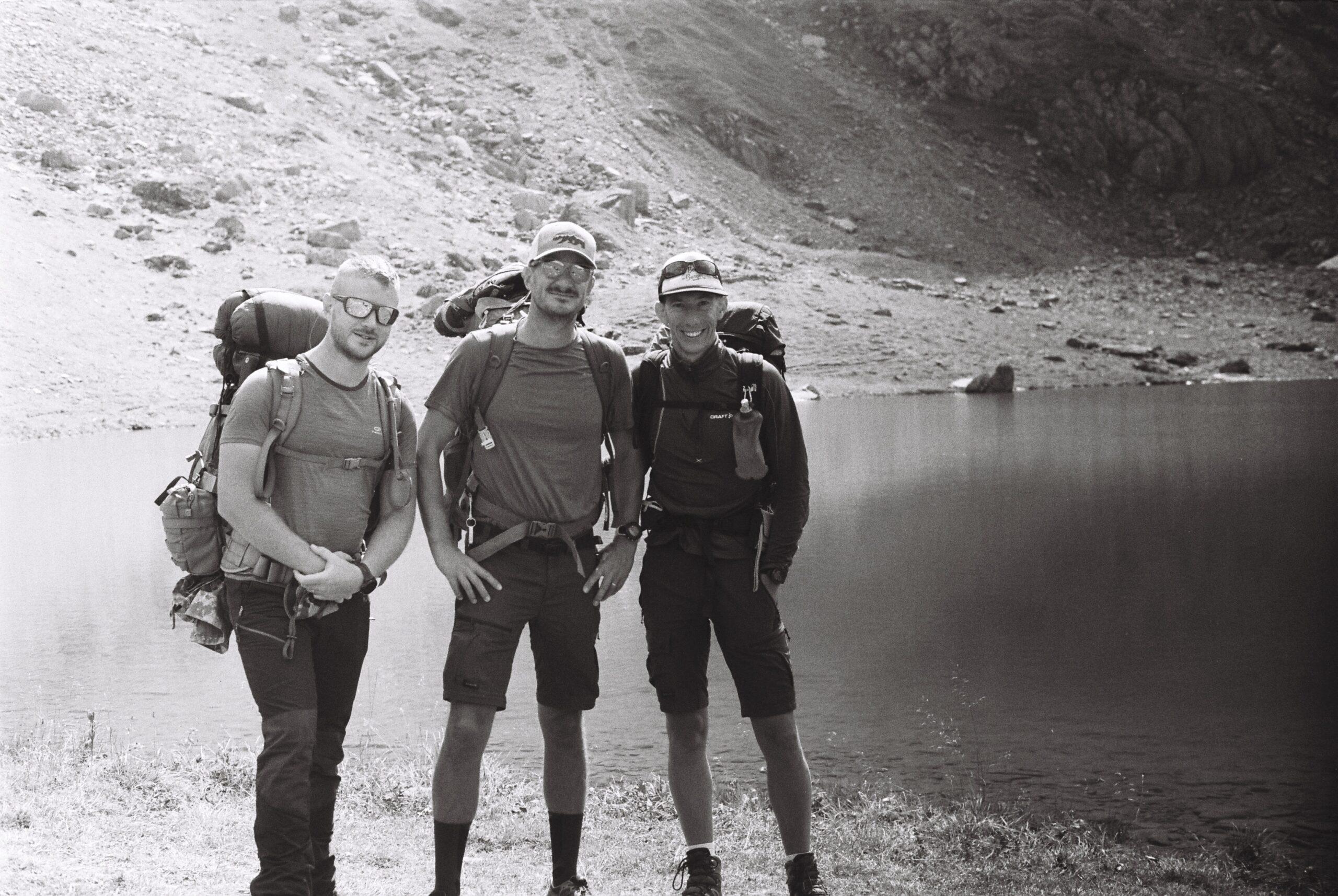 Trois garçons dans le Beaufortain