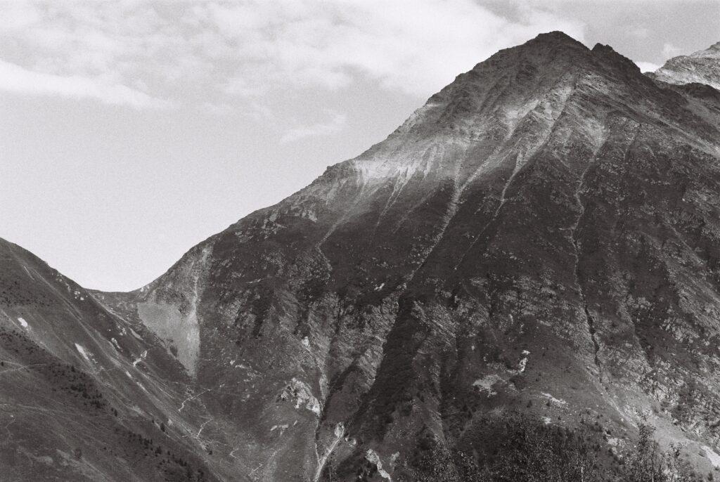 Col du Tricot dans le massif du Mont Blanc
