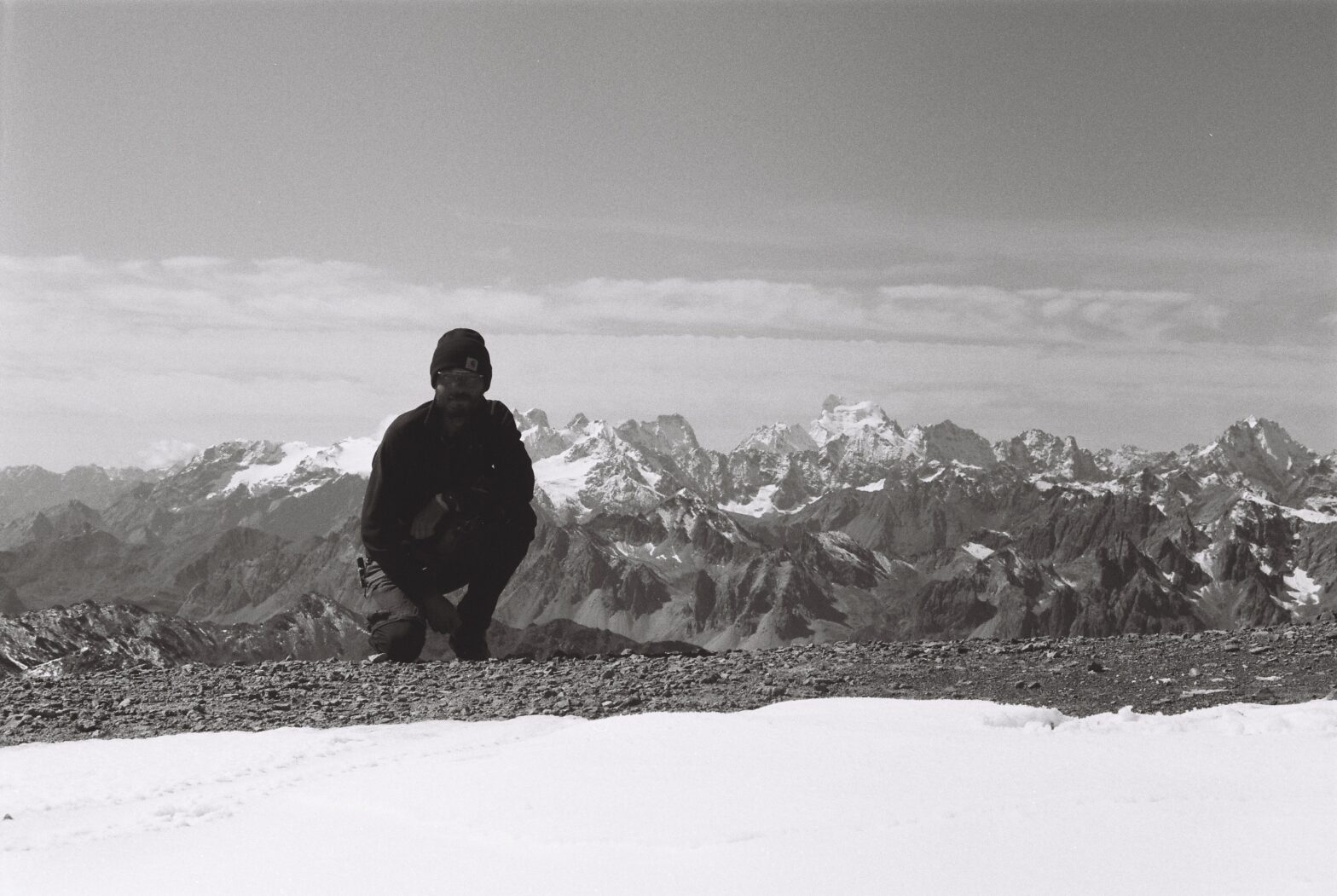 Autoportrait au sommet du Thabor