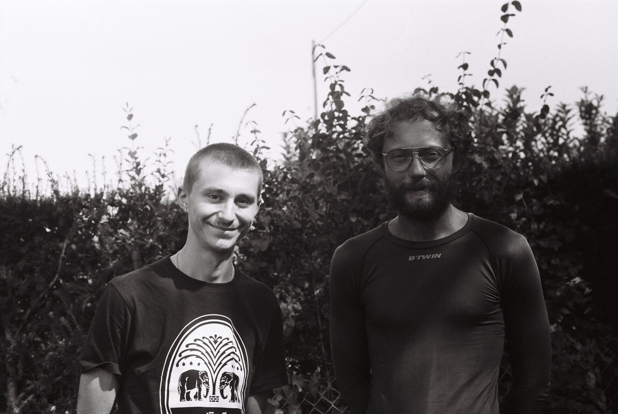 Martin et moi-même avant le Jura