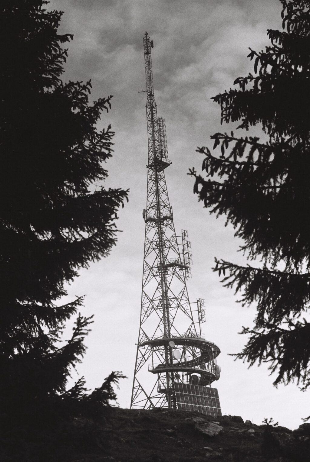 Antenne dans le Jura suisse