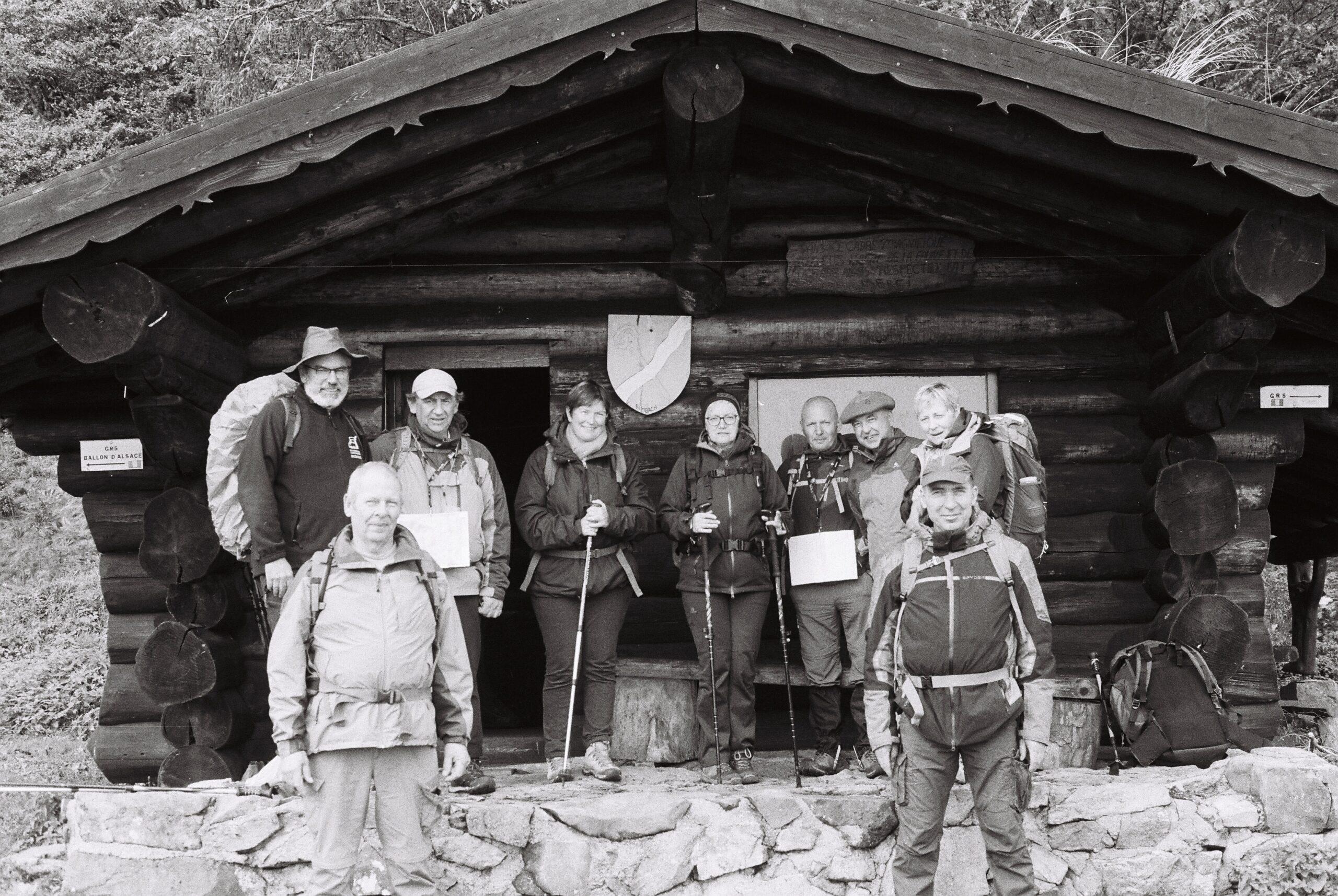 Club Vosgien dans les Vosges