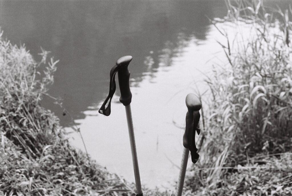 Bâtons dans le Doubs