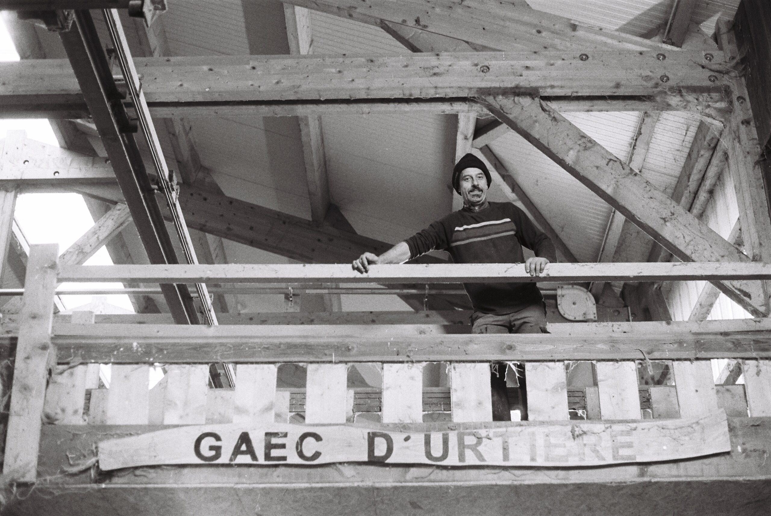 Samuel, patron de la GEAC d'Urtière dans le Doubs